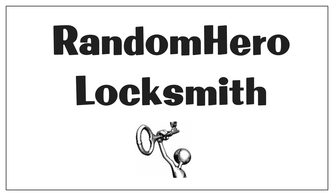 RandomHero Locksmith Logo