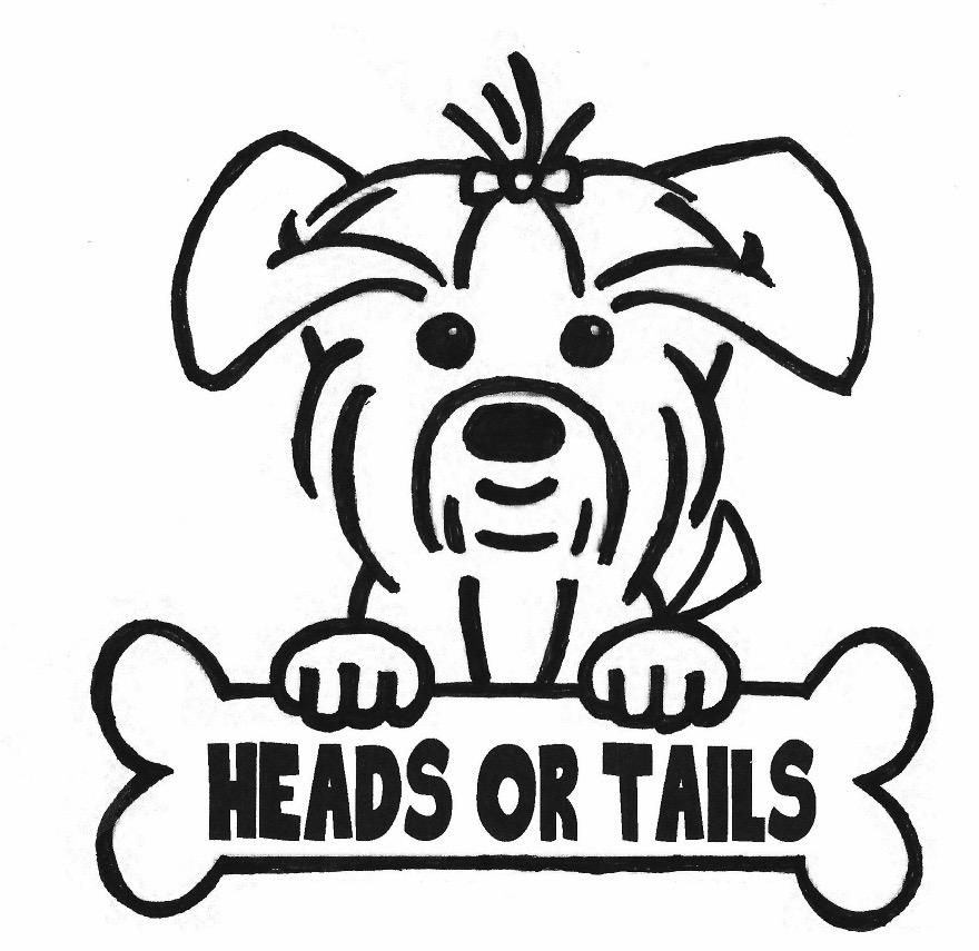 Heads or Tails Pup Logo