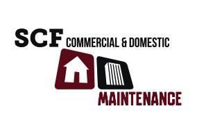SCF commercial and domestic maintenance Logo