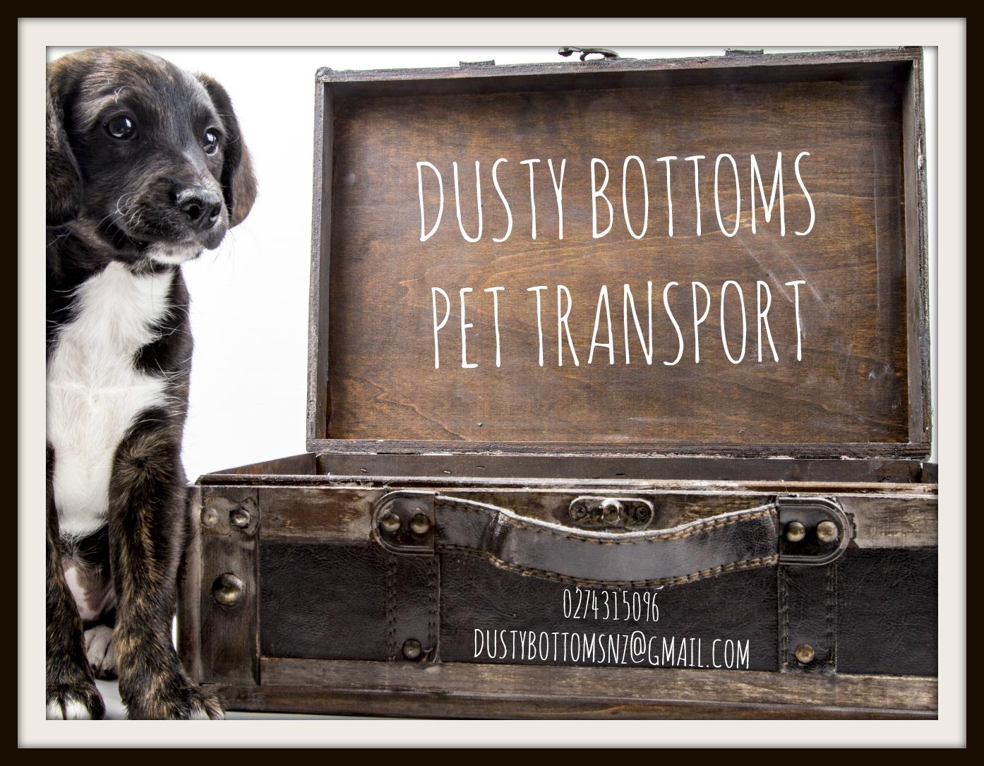 Dusty Bottoms Pet Services Logo