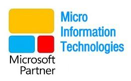 Micro Information Technologies Microsoft Certified Partner Product and Service Logo