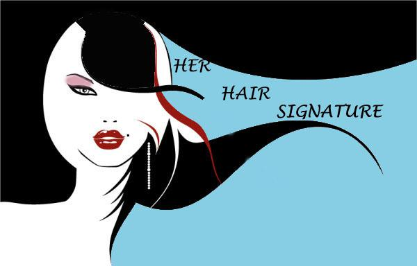 Her Hair Signature Logo