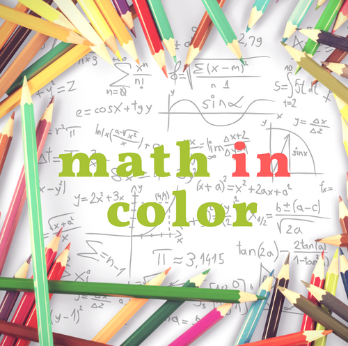 Math In Color Logo