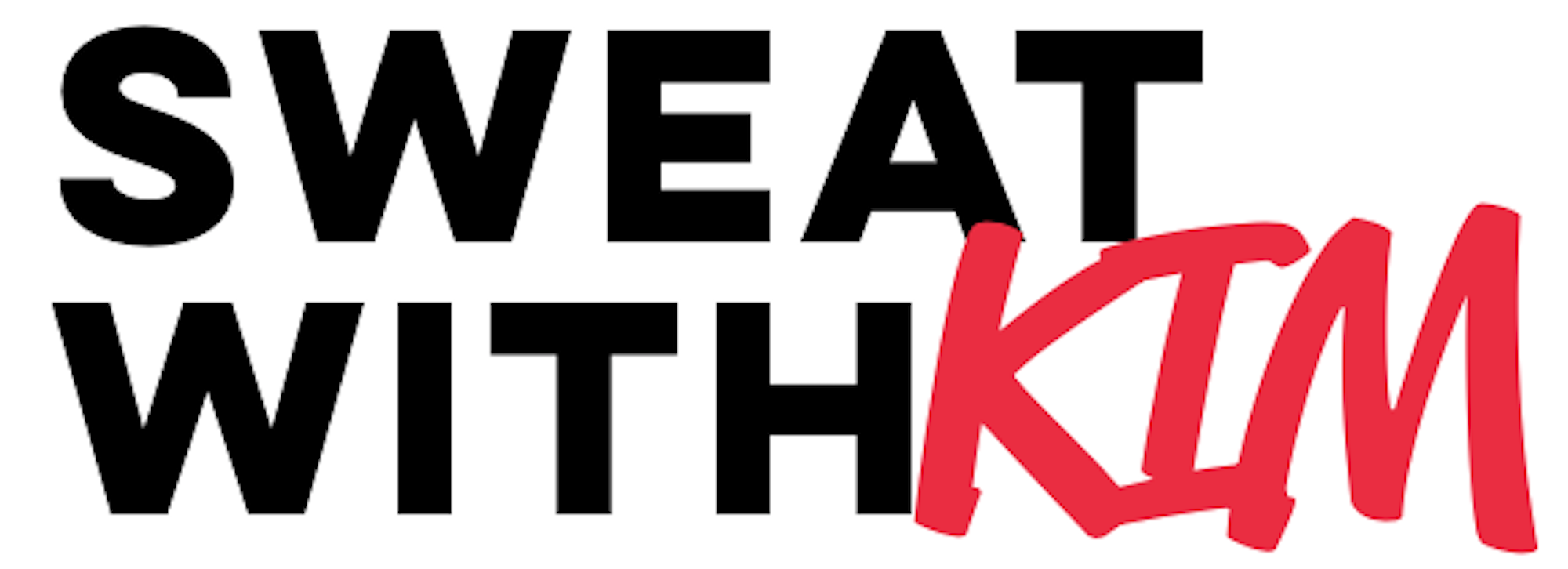 Sweat with Kim Logo