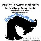 HairOnTheGoNow, LLC Logo