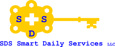 SDS Smart Daily Services, LLC Logo