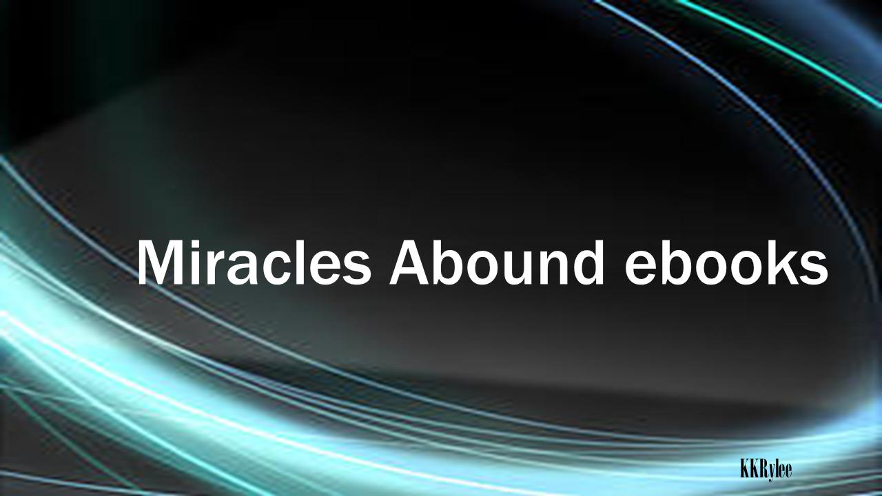 Miracles Abound ebooks Logo