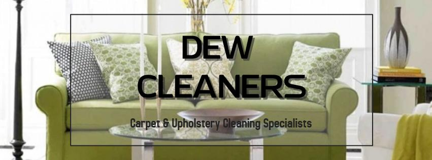 DEW CLEANERS Logo