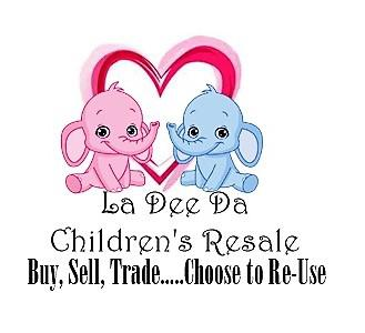 La Dee Da Children's Resale Store Logo