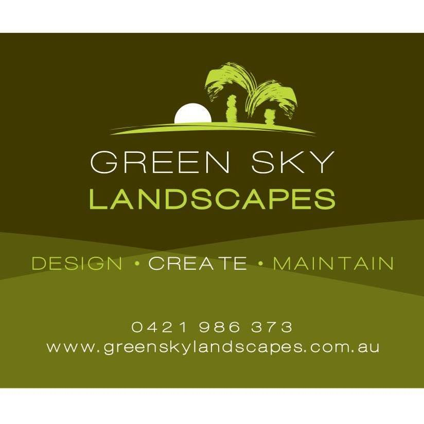 Green Sky Landscapes Logo