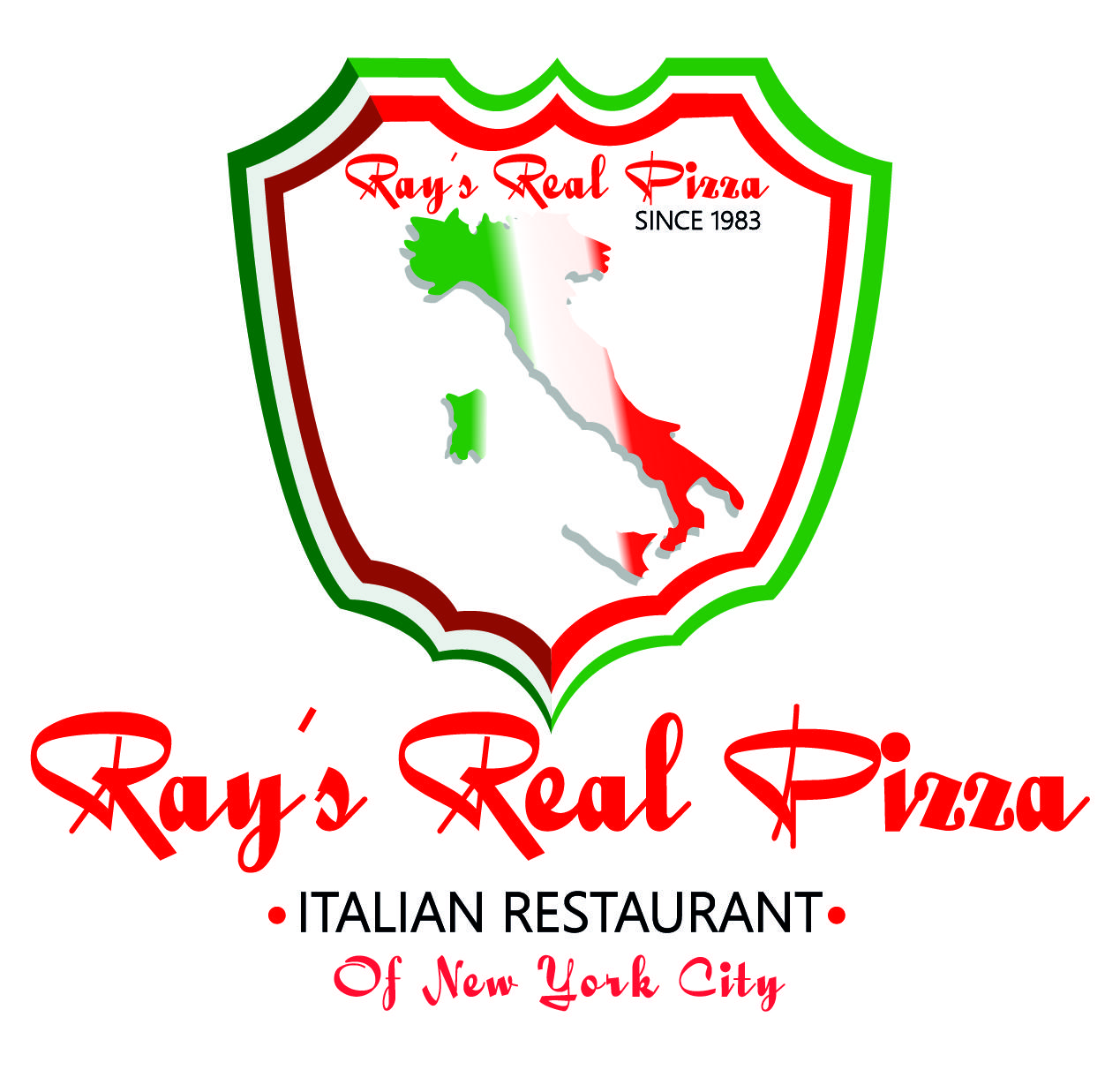 Rays real pizza Jackson Logo