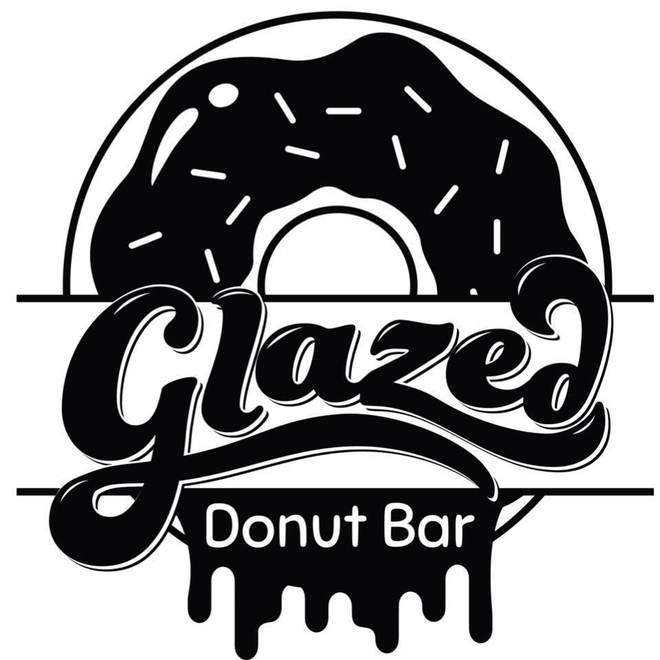 Glazed Donut Bar Logo
