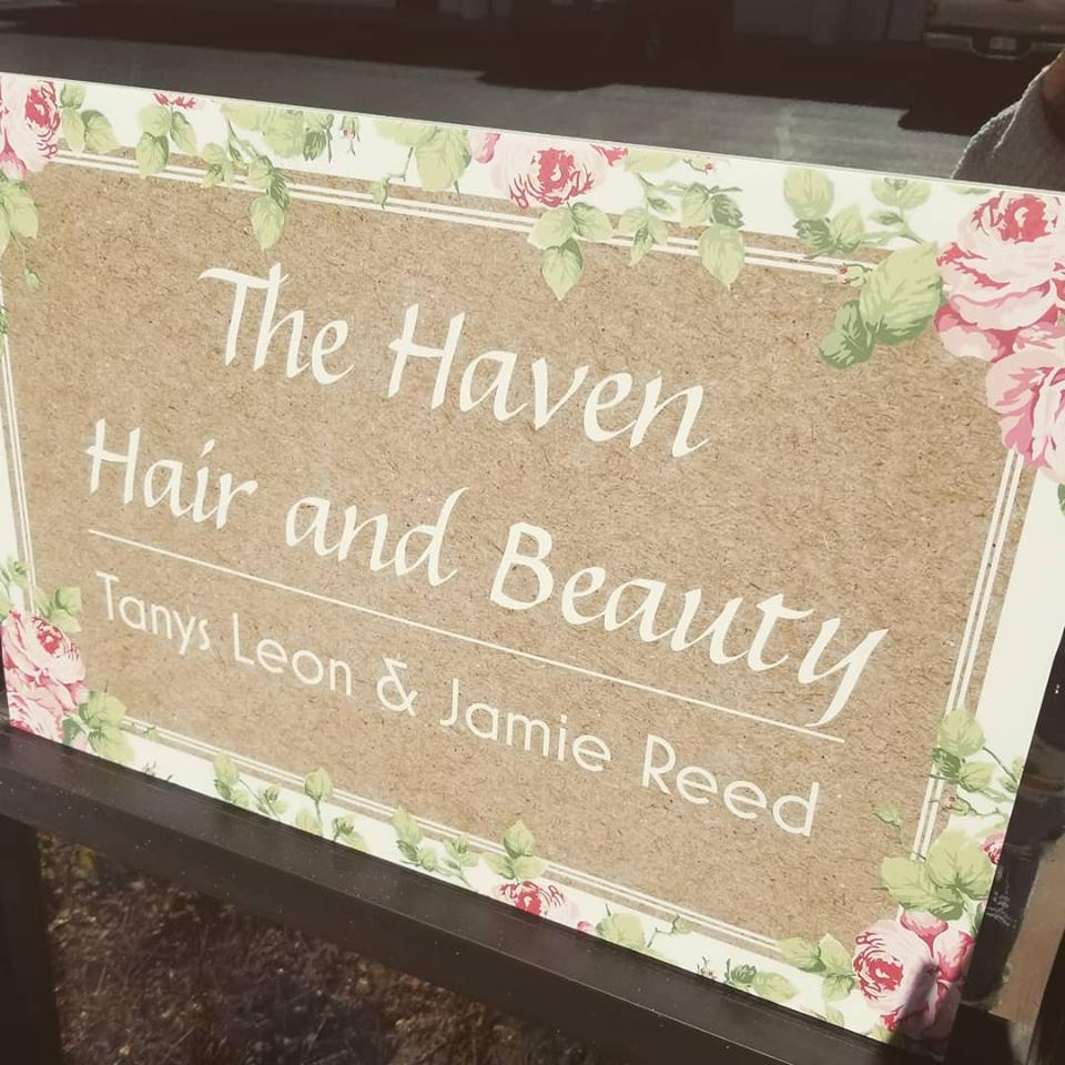 The Haven Hair and Beauty Logo
