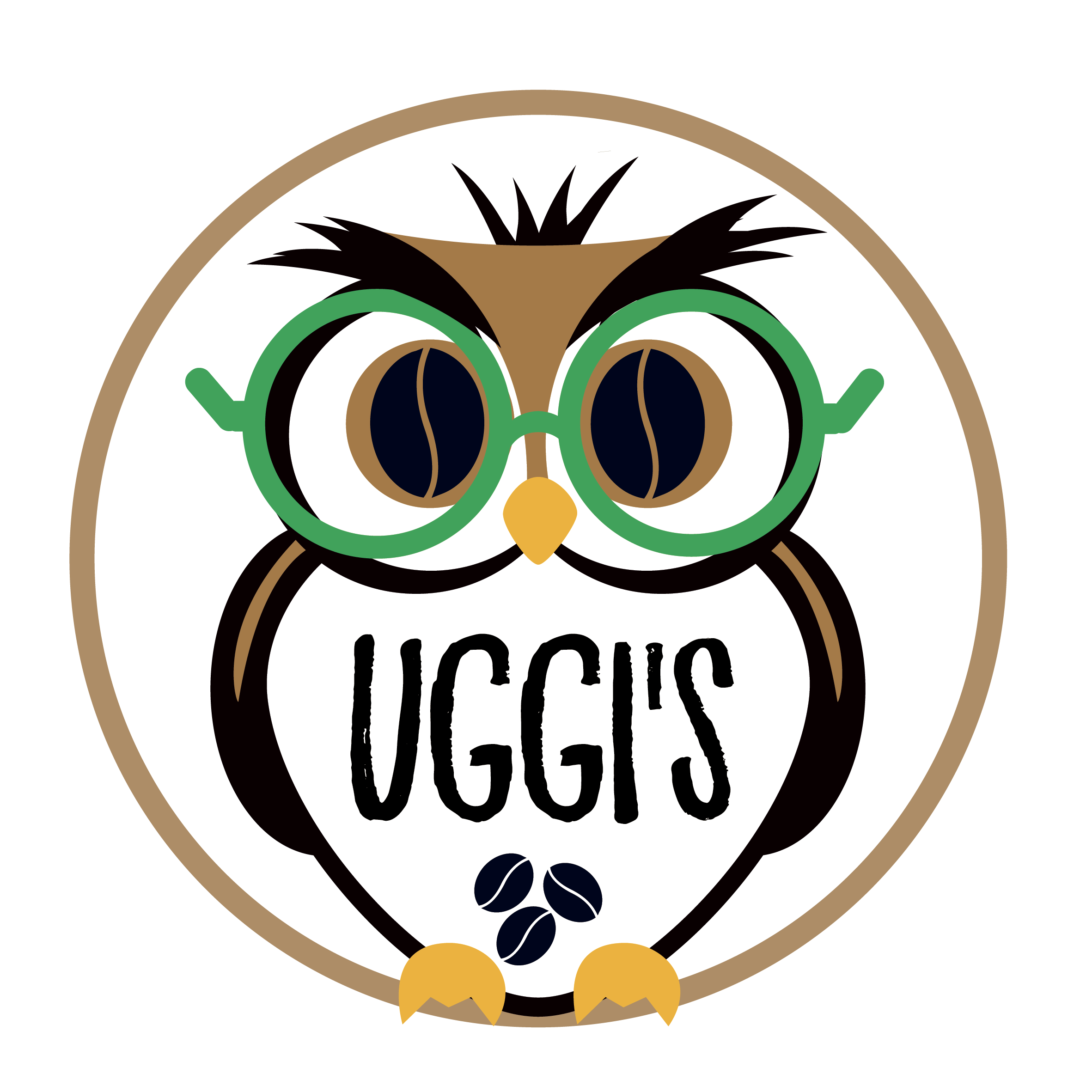 Uggi's Coffee Logo