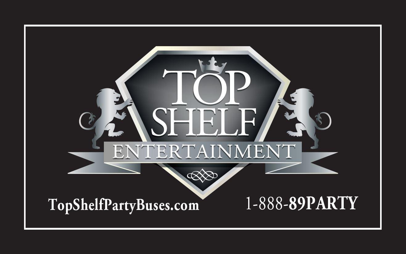 TOP SHELF PARTY BUS PHILA Logo
