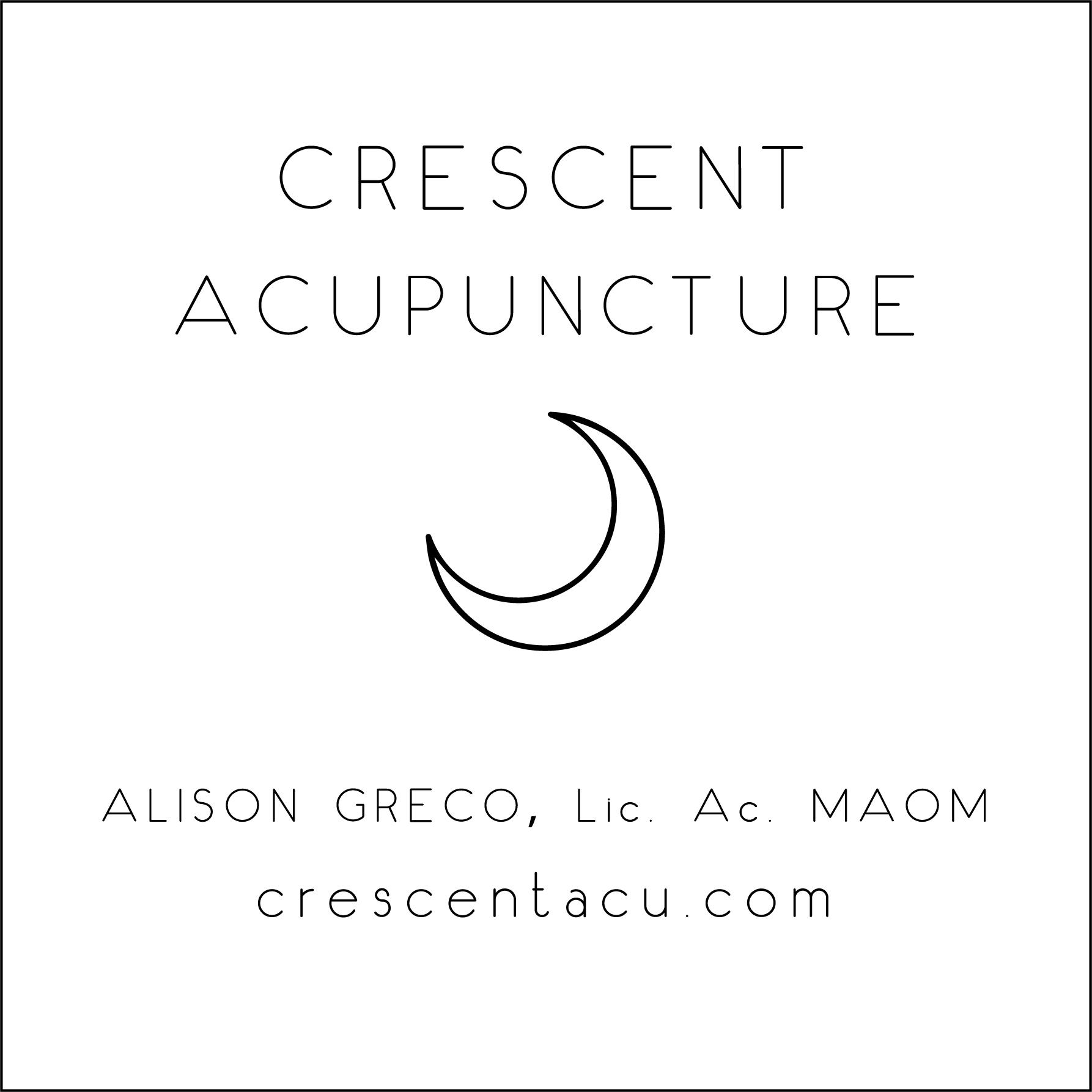 Crescent Acupuncture Logo