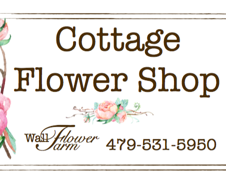 Cottage Flower Shop Logo