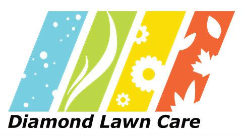 Diamond Lawn Care Logo