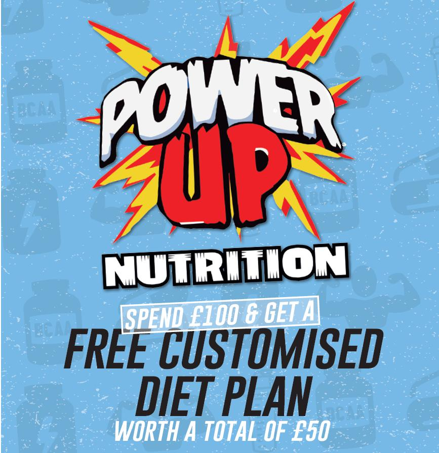 Power Up Nutrition Logo