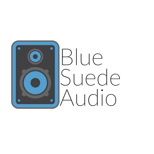 Blue Suede Audio Logo