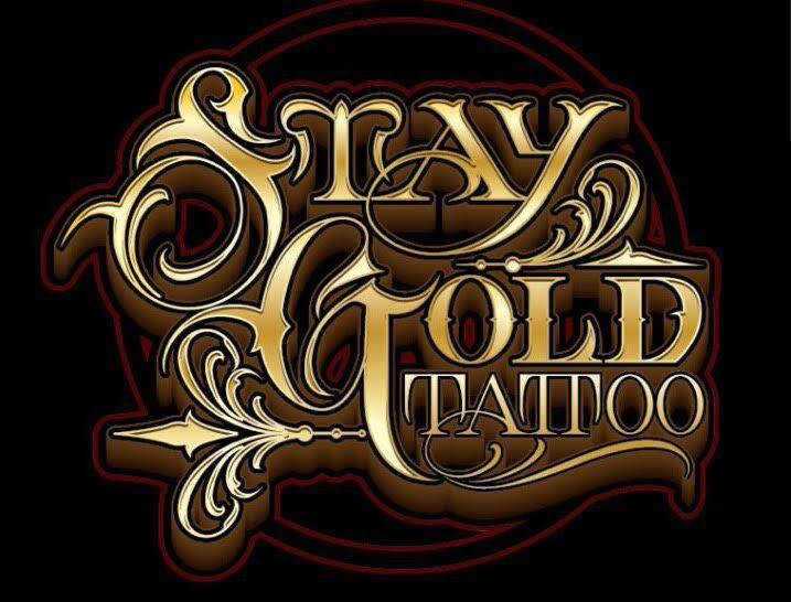 Stay Gold Tattoo Logo