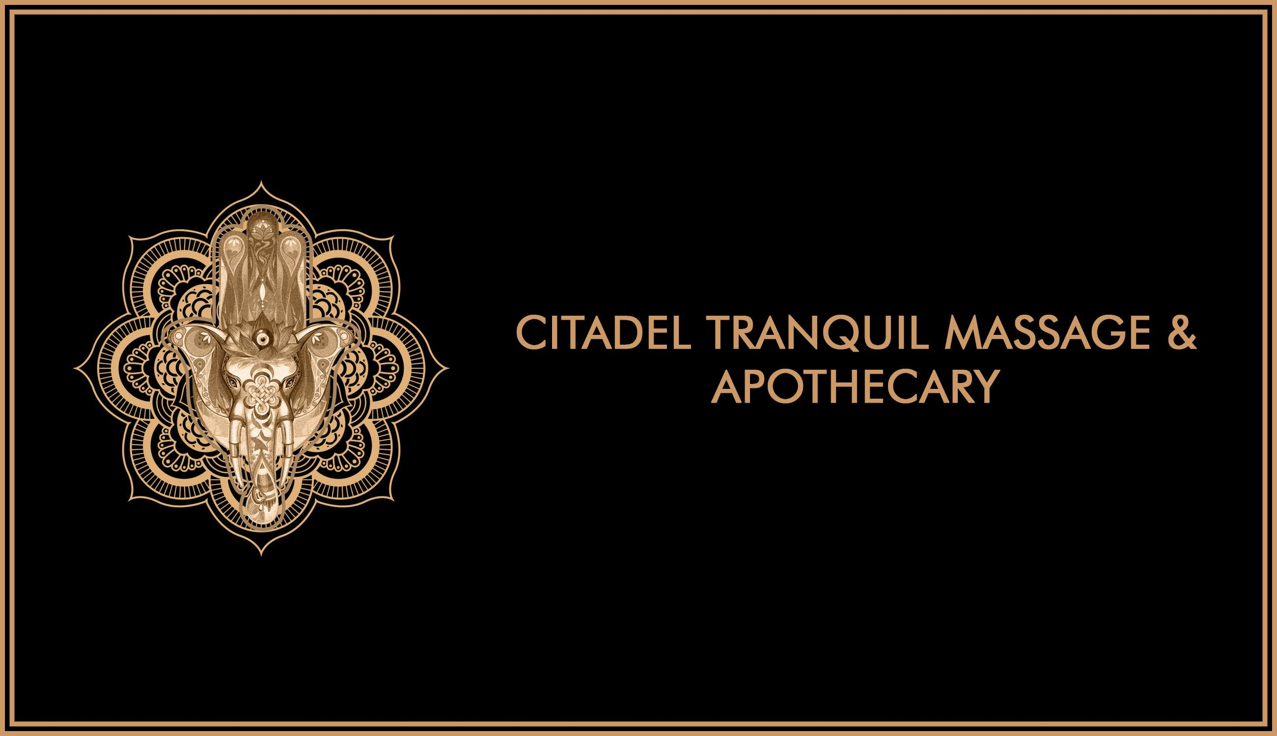 Citadel Massage and Apothecary Logo