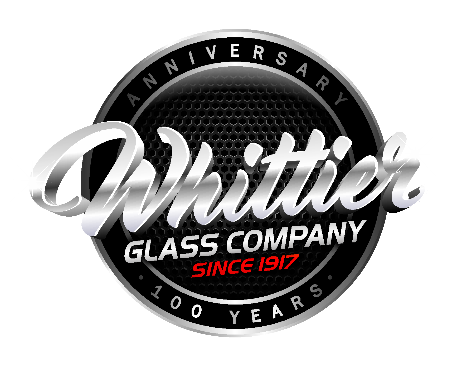 whittier glass Logo