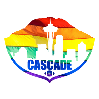 Cascade Flag Football Association Logo