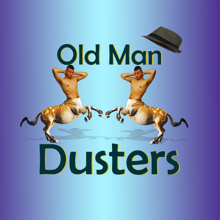 Old Man Dusters Logo