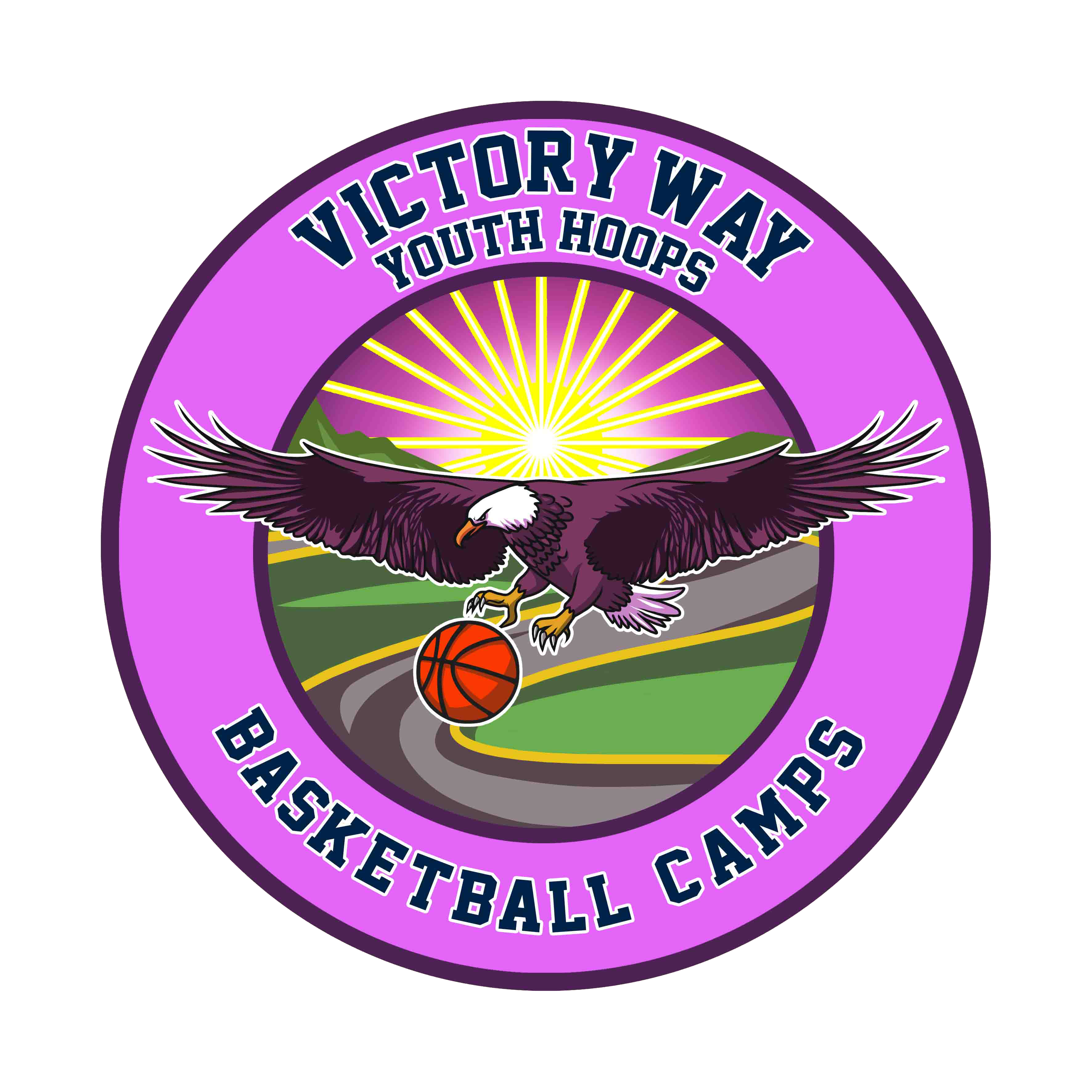 Victory Way Youth Hoops Basketball Camps Logo