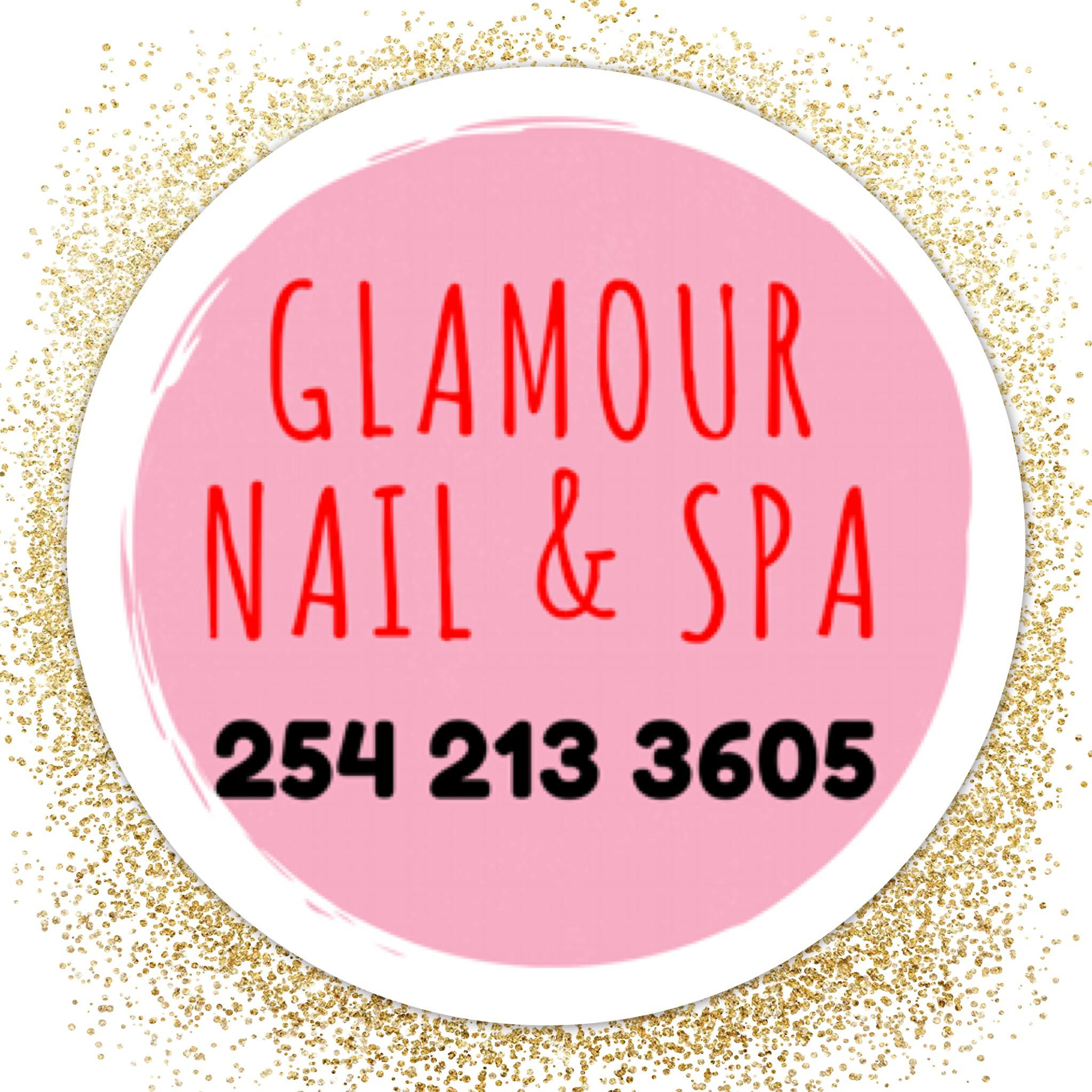 Glamour Nails and Spa Logo