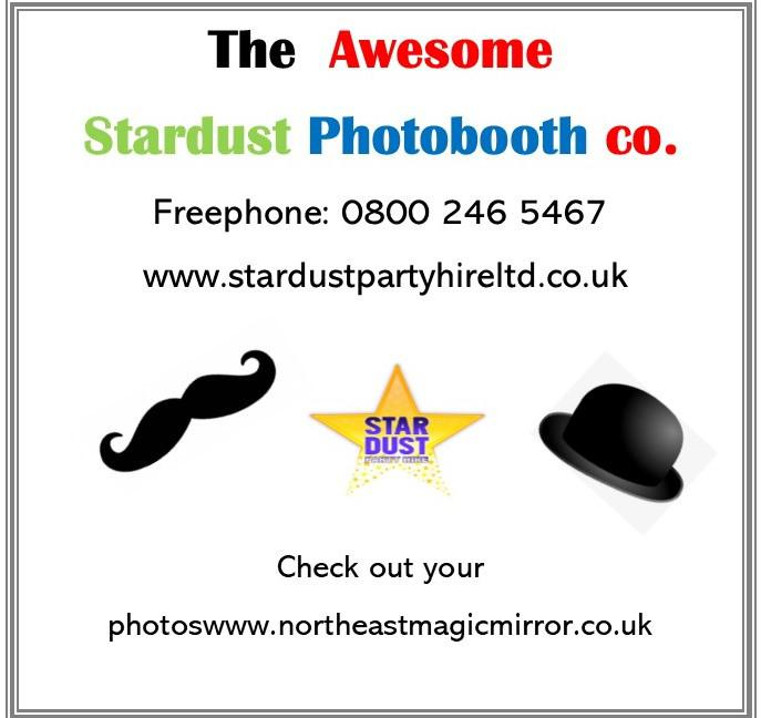 The Awesome Stardust Photobooth Co Logo