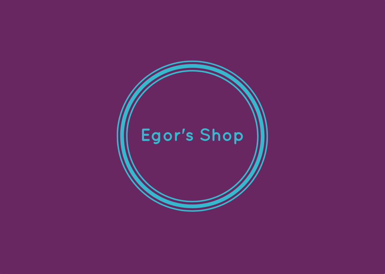 Egor's Shop Logo
