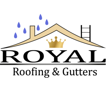 Royal Roofing & Gutters Logo