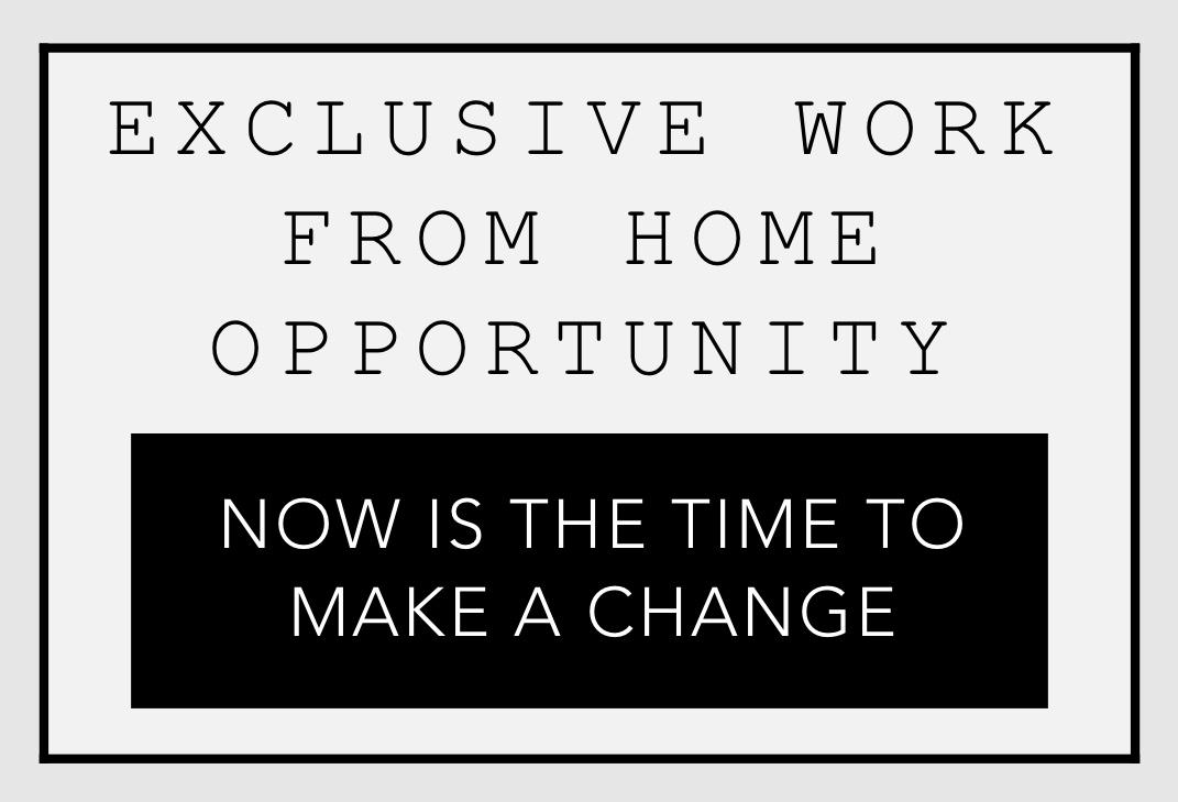 Exclusive Work From Home Opportunity Logo