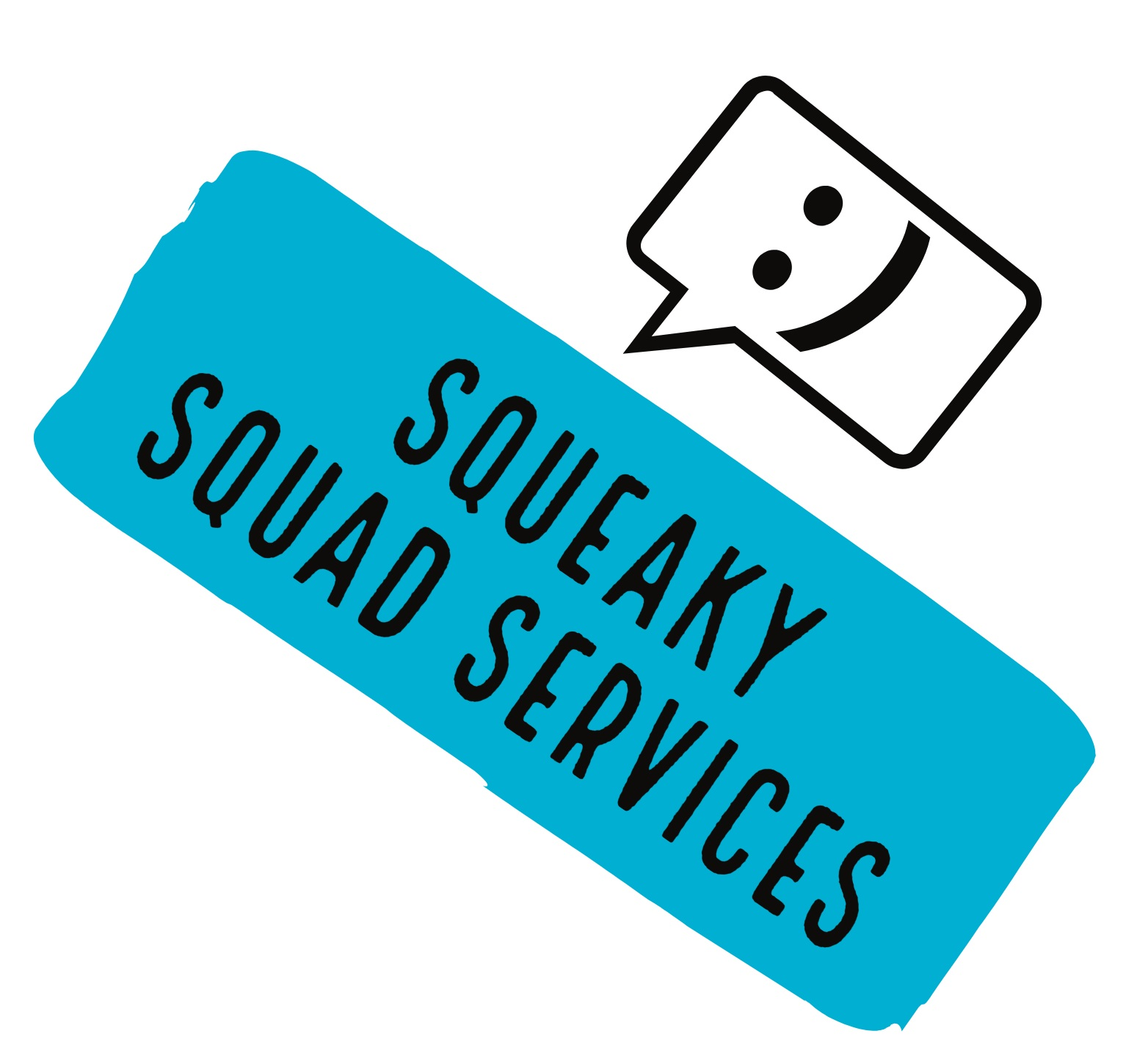 Squeaky Squad Services Logo