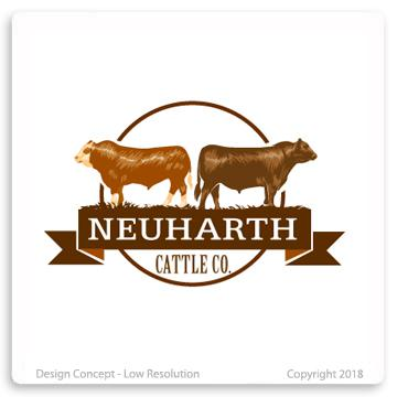 Neuharth Cattle Co. Logo