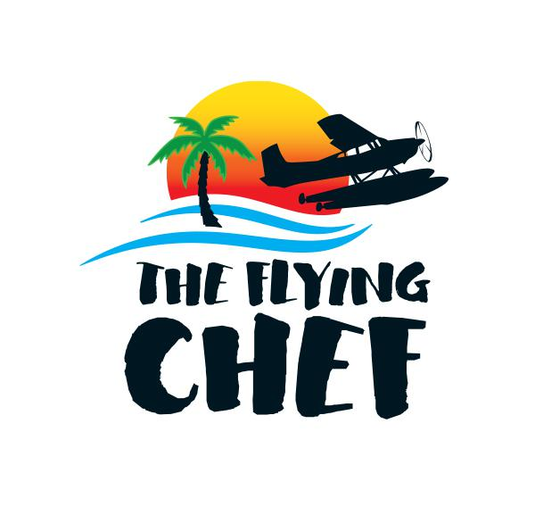 The Flying Chef Logo