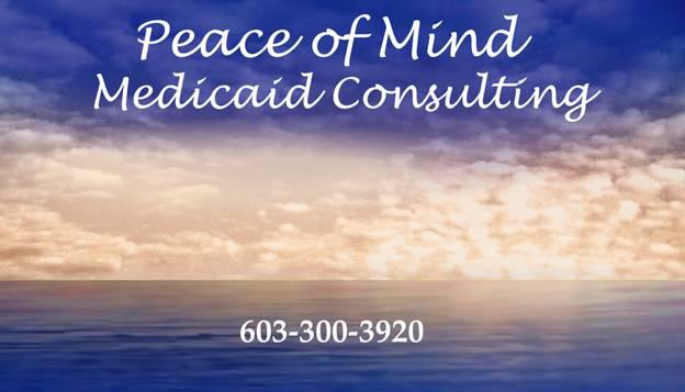 PEACE OF MIND MEDICAID CONSULTANT Logo