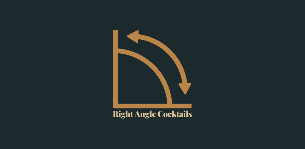 Right Angle Cocktails Logo