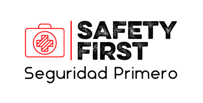 Safety First Seguridad Primero Logo