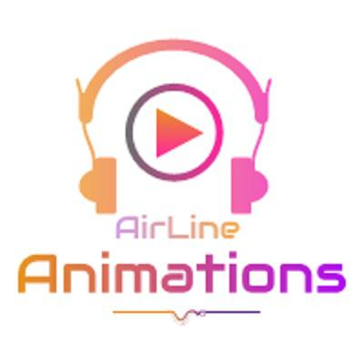 airline animations  Logo