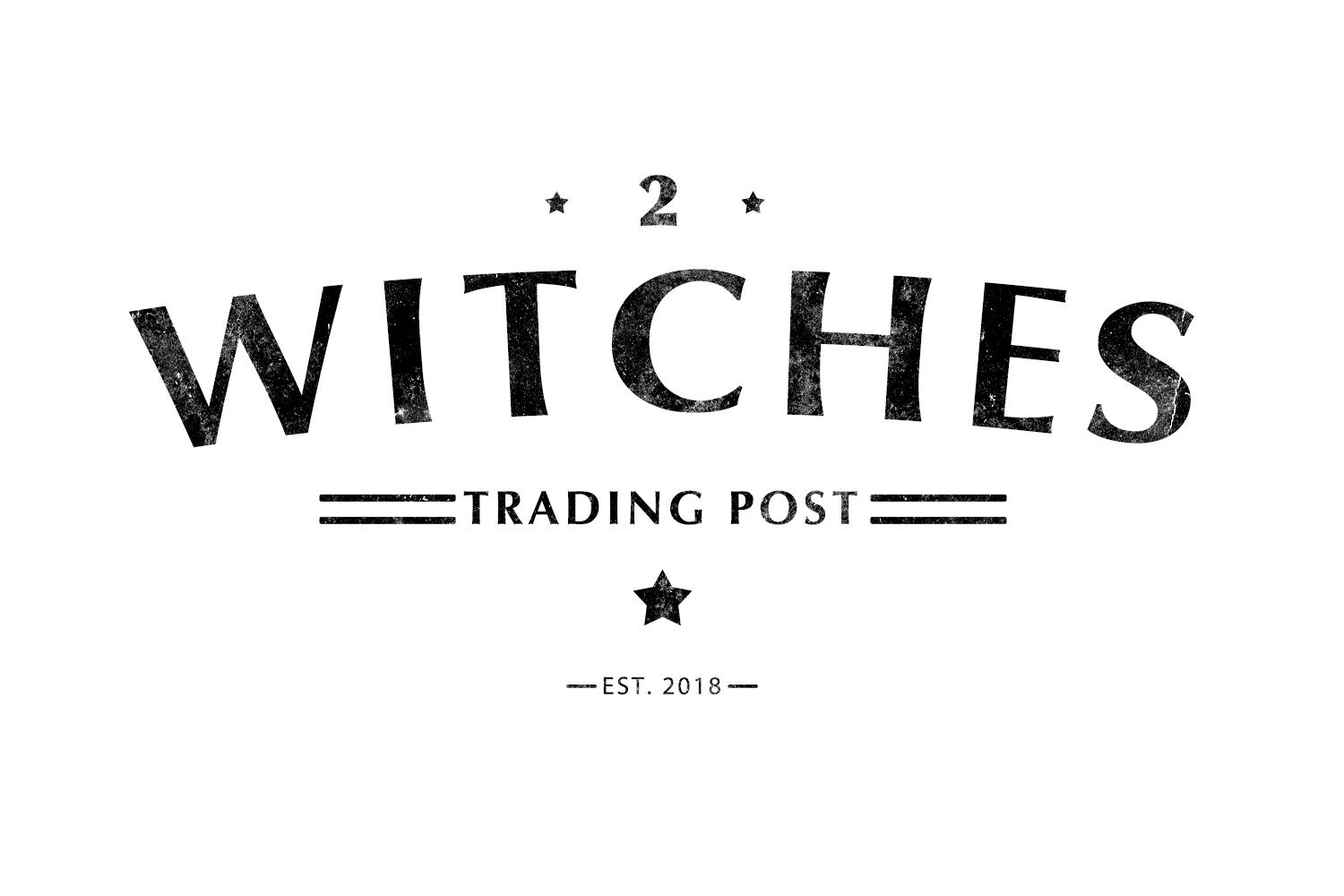 2 Witches Trading Post Logo