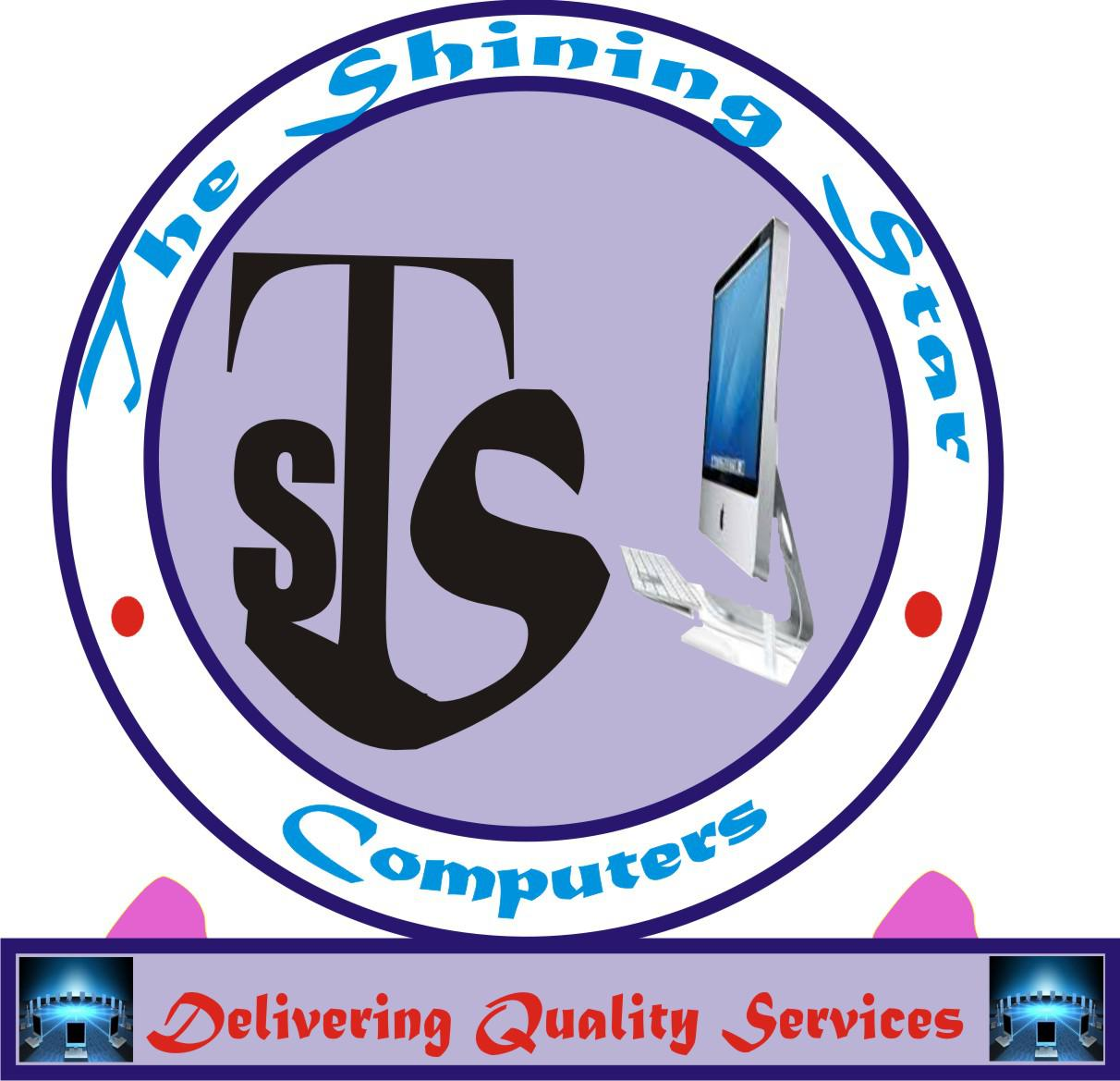 The Shining Star Computers Logo