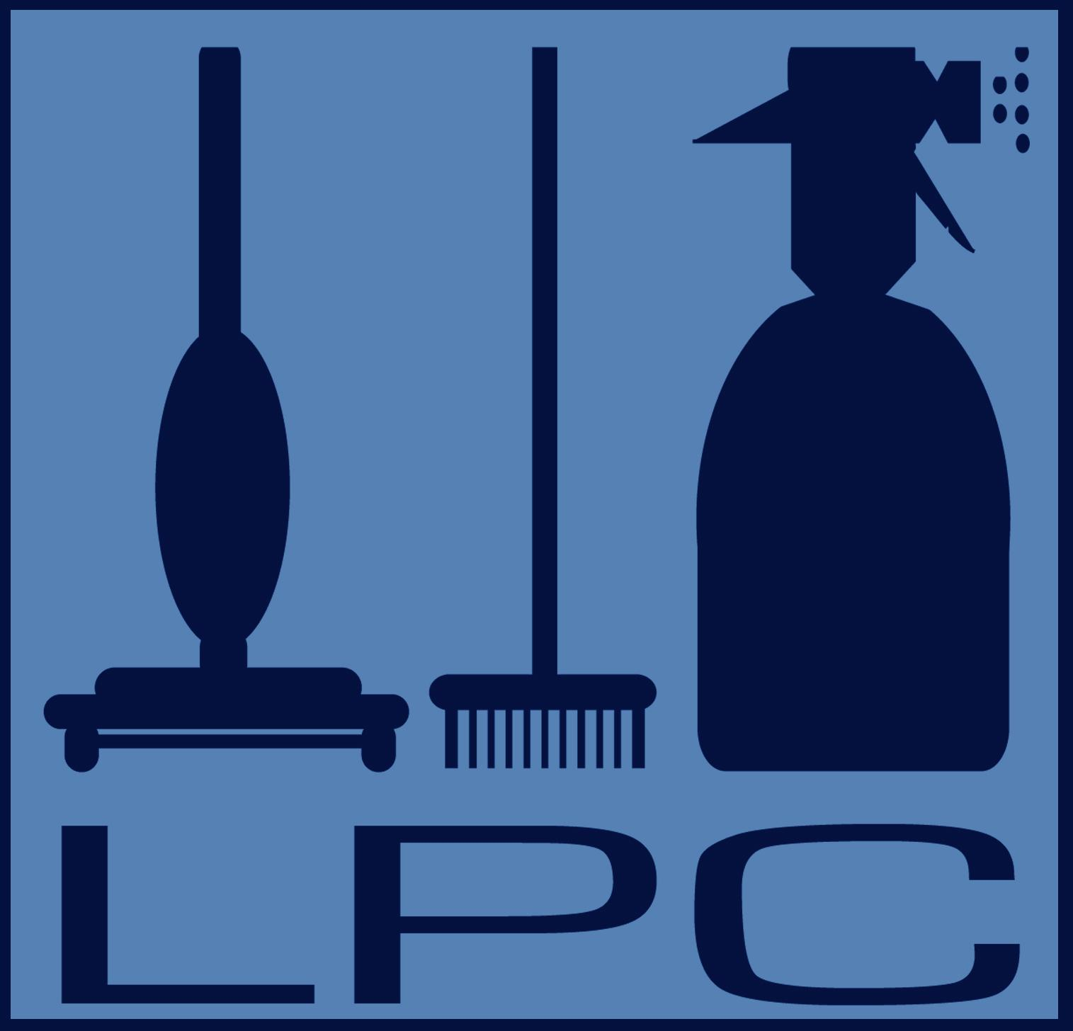 Laura Priddle Cleaning Logo