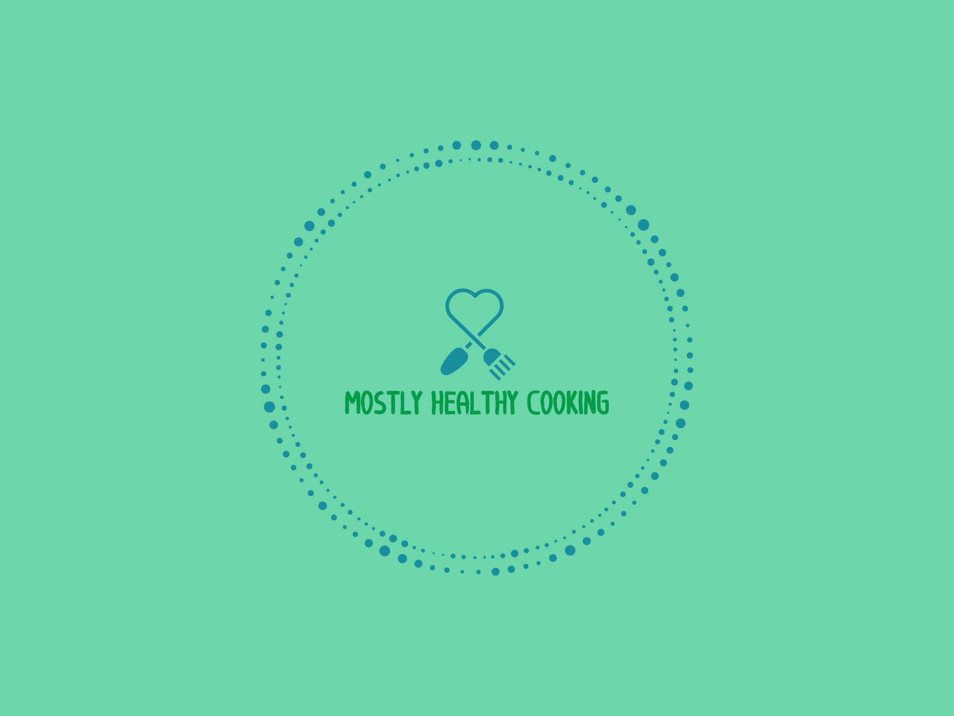 Mostly Healthy Cooking Logo