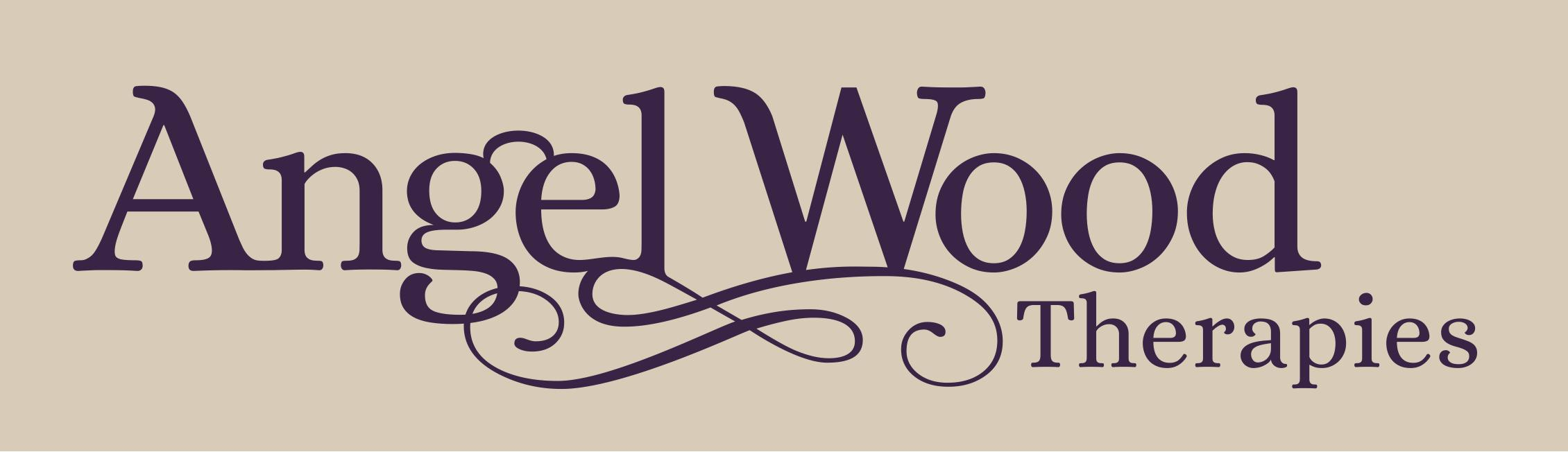 Angel Wood Therpaies and Training  Logo