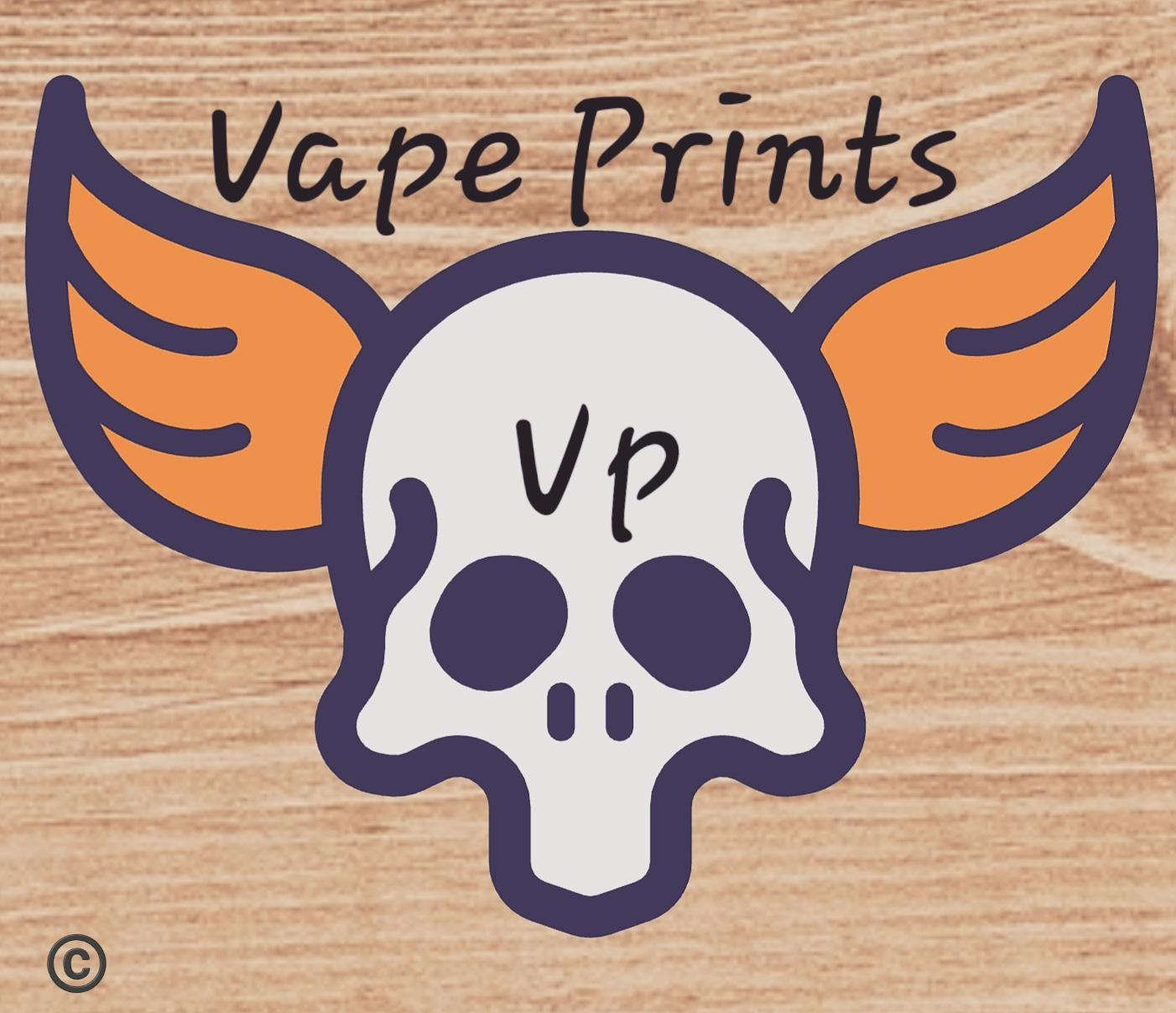 VP vape prints Logo