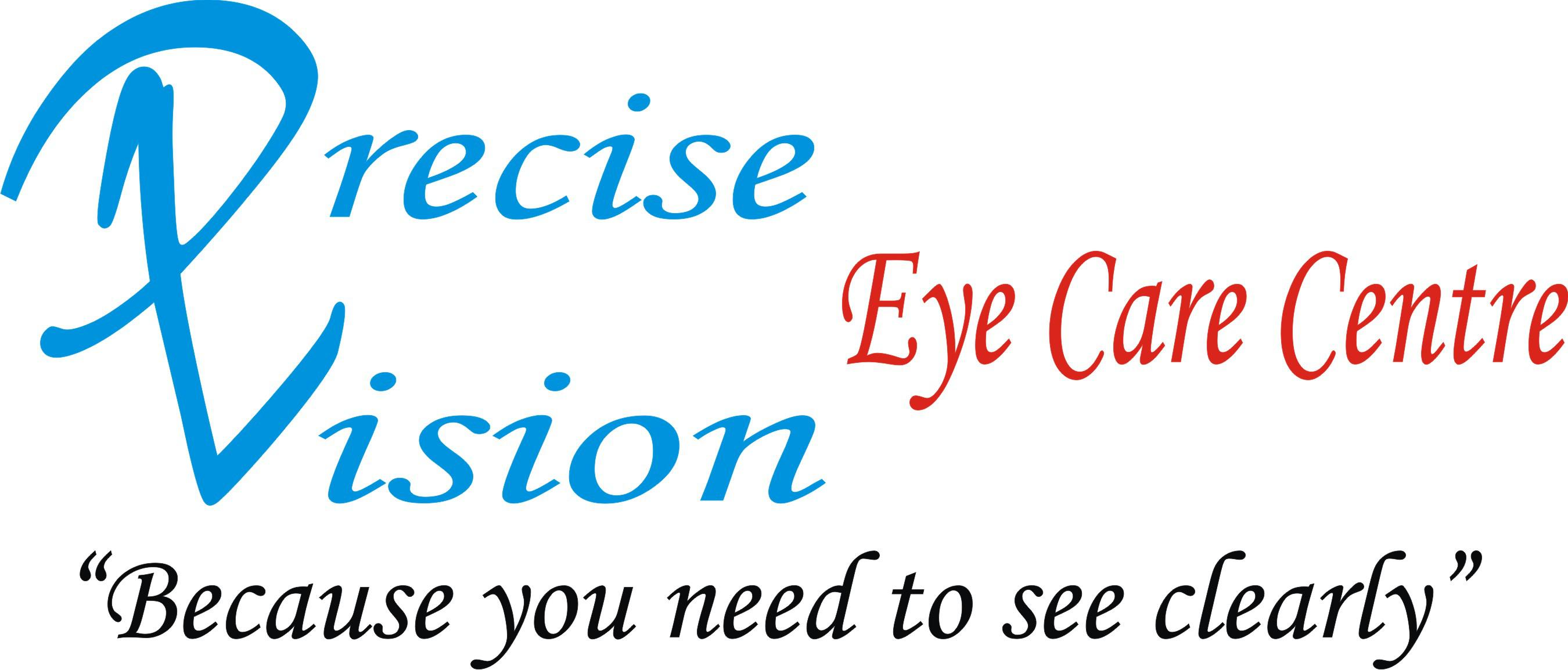 PRECISE VISION EYE CARE CENTRE Logo