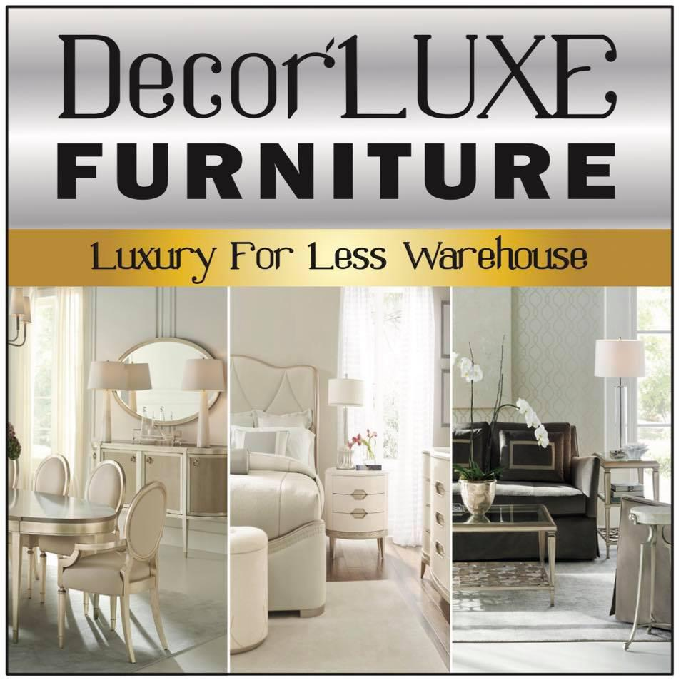 DecorLuxe Furniture Warehouse Logo